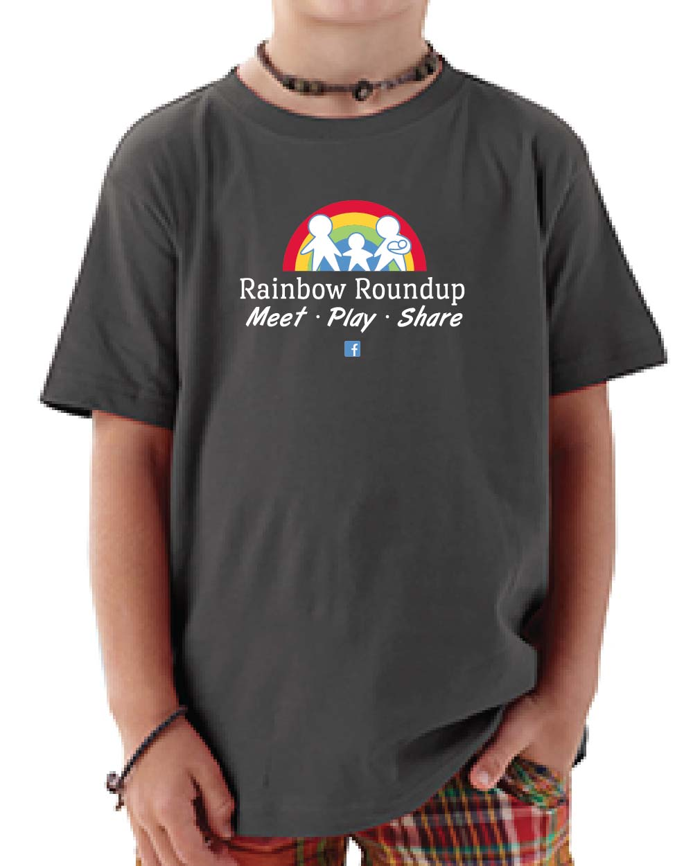 youth rainbow roundup t-shirts