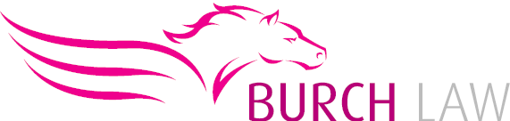 burch law logo lorie burch