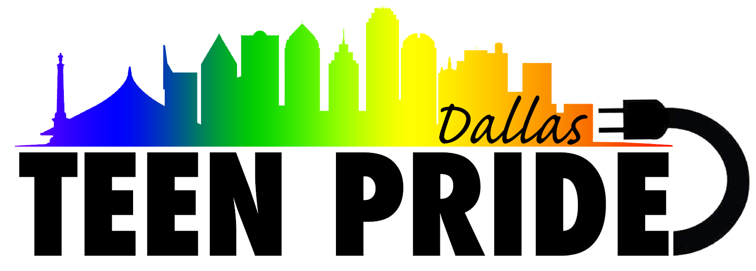 dallas teen pride logo
